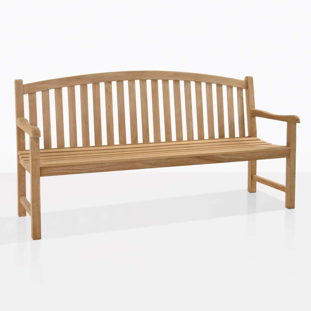 Red Oak Kitchen Table, Bowback 3 Seater Outdoor Bench A Grade Teak Benches Teak Warehouse