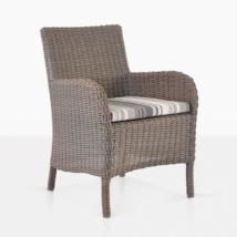 Cape Code Wicker Outdoor Dining Chair