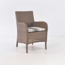 Cape Cod Outdoor Wicker Dining Arm Chair-0