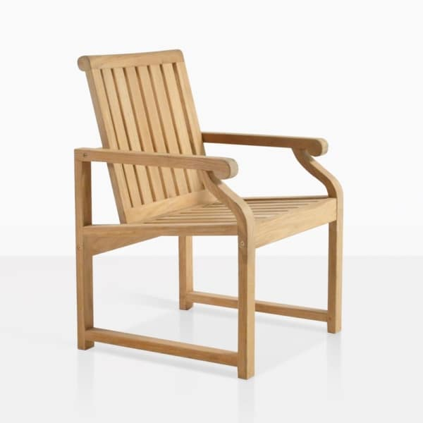 Capri Classic Teak Dining Chair