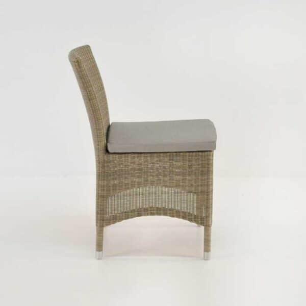 enna wicker side chair