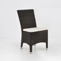 Luigi Wicker Dining Side Chair (Java)-0