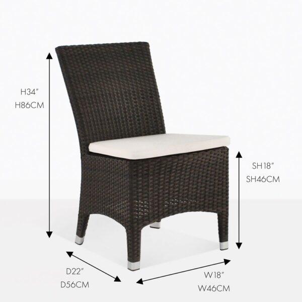 luigi dining side chair