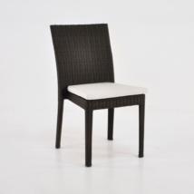 Romansa Wicker Dining Side Chair (Java)-0