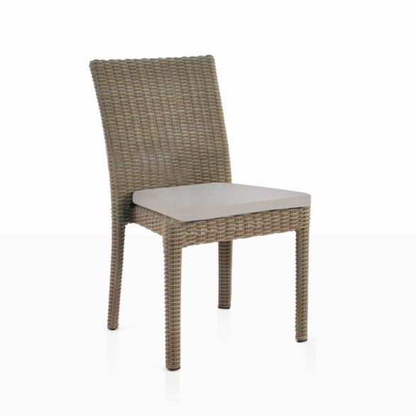 Romansa Wicker Dining Side Chair. U201c