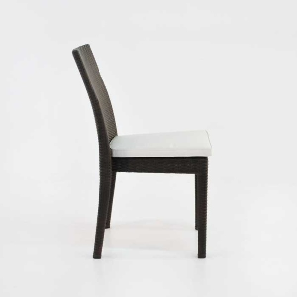 side romansa dining side chair in java