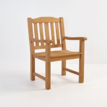 Victory Teak Dining Arm Chair-0