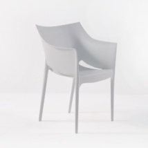 Wing Outdoor Chair in Polypropylene (Grey) -0