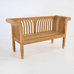 cleopatra teak bench