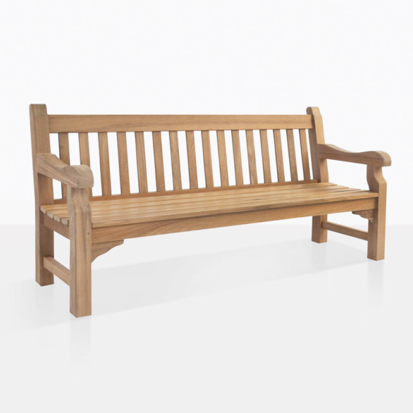 Jumbo Teak Outdoor Bench
