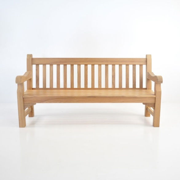 oxford teak bench 4 seat