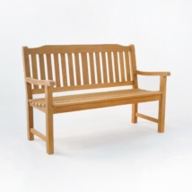 Victory Teak Patio Bench (2 Seat)-0