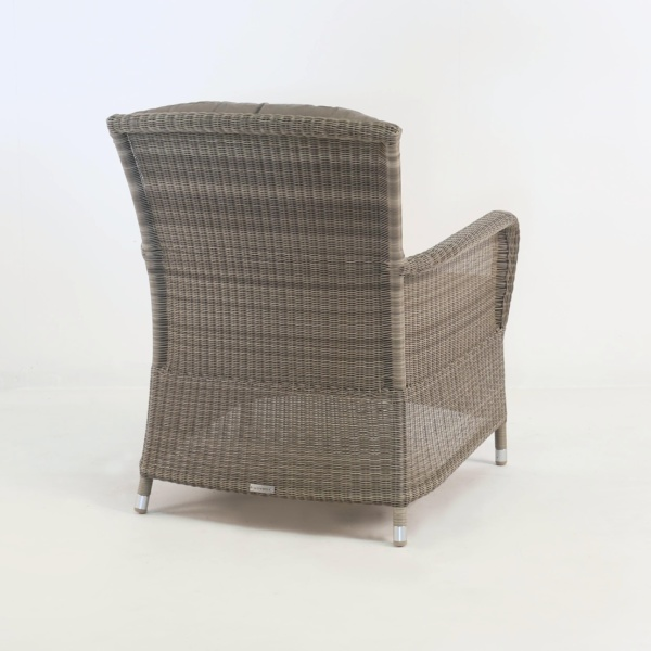 gilbert occasional chair back view