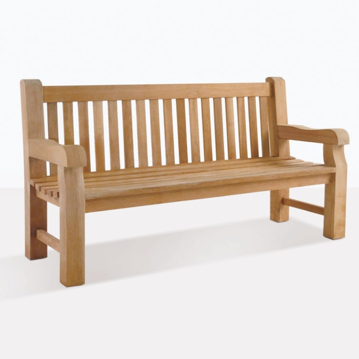 Classic A-Grade Teak Jumbo Garden Bench