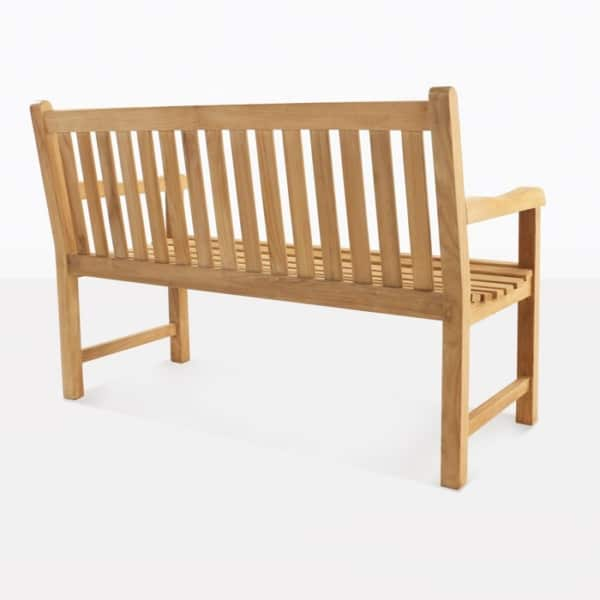 Garden Teak Outdoor Bench Back