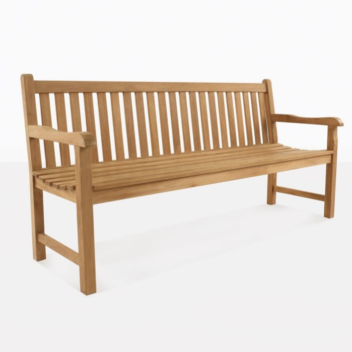 Garden Teak Bench For Three People