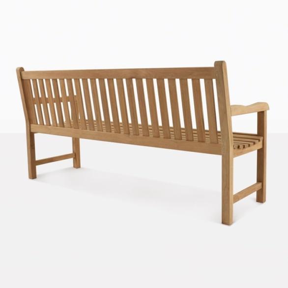 Garden Teak Bench Back