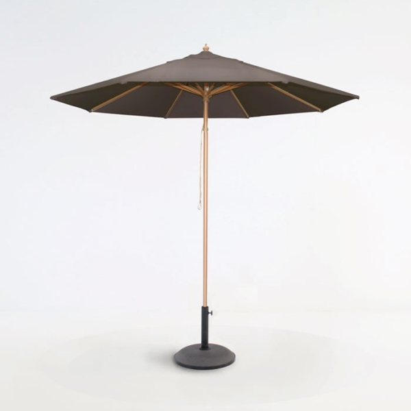 Sunbrella Umbrella Taupe-0