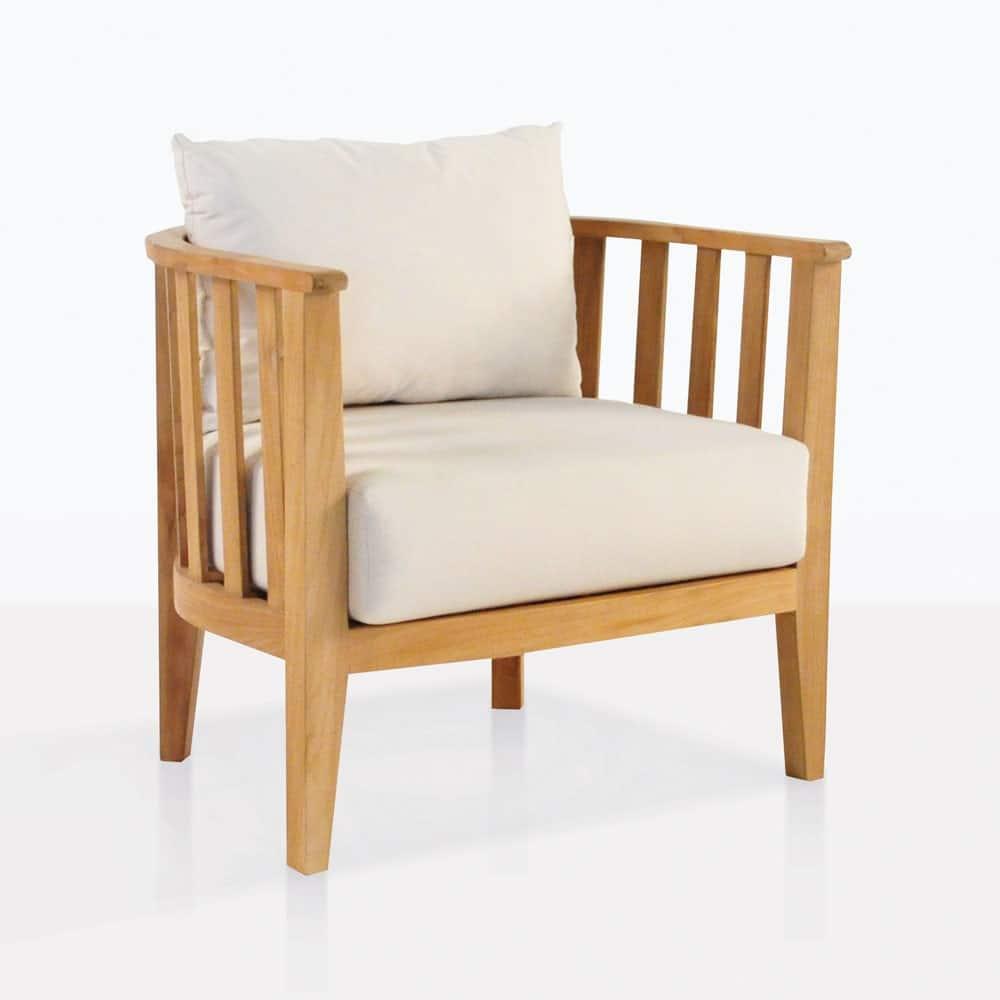 Marine Teak Tub Chair Relaxing Chairs Teak Warehouse
