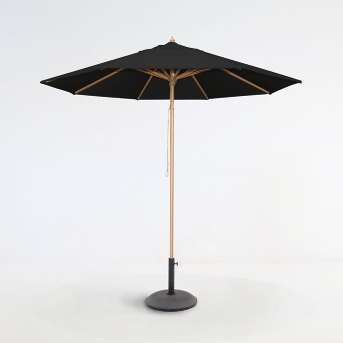 Sunbrella Umbrella Black-0