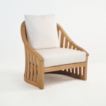Charter Teak Outdoor Relaxing Chair-0