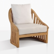 Charter Teak Club Chair With Cushions