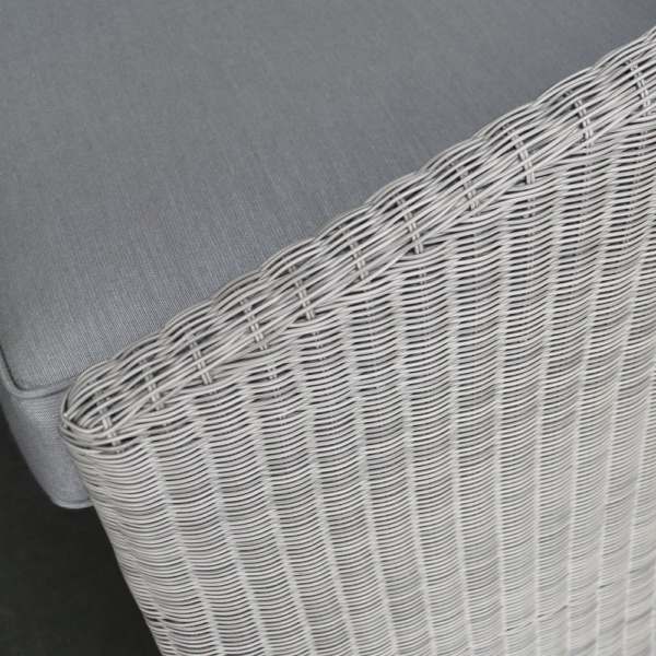 Cove Wicker Outdoor Chair Closeup