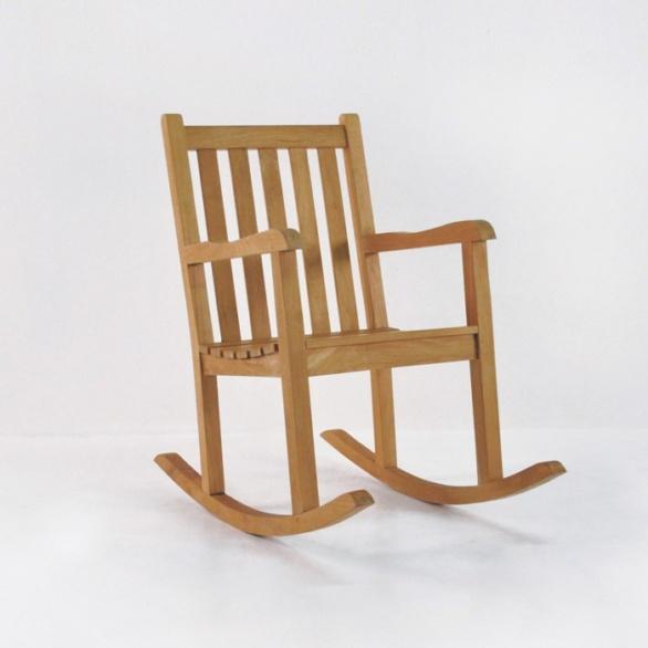 Teak Relaxing Rocking Chair-0