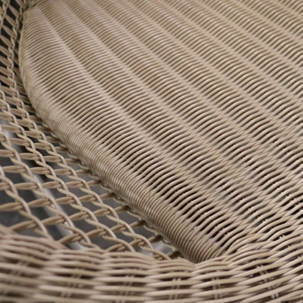 pietro closeup outdoor relaxing modern wicker chair