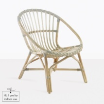 Porch Indoor Arm Chair (Rattan)-0