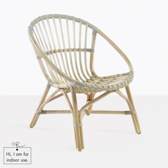 Porch Indoor Arm Chair (Rattan) | Relaxing Covered Lounge | Teak ...