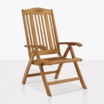 Regency Teak Reclining Chair