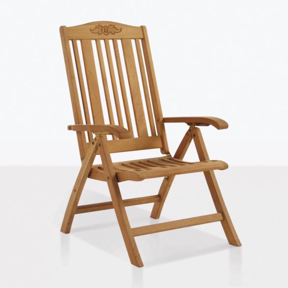 Regency Teak Reclining Chair