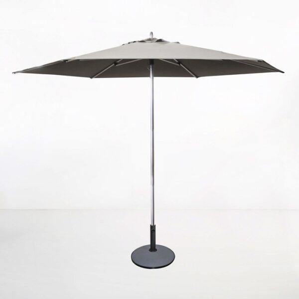 Tiki Round Patio Umbrella (Grey)-0