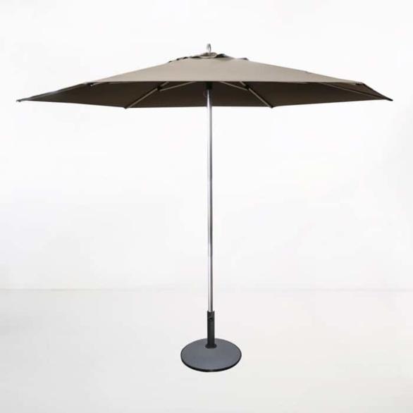 Tiki Round Patio Umbrella (Taupe)-0