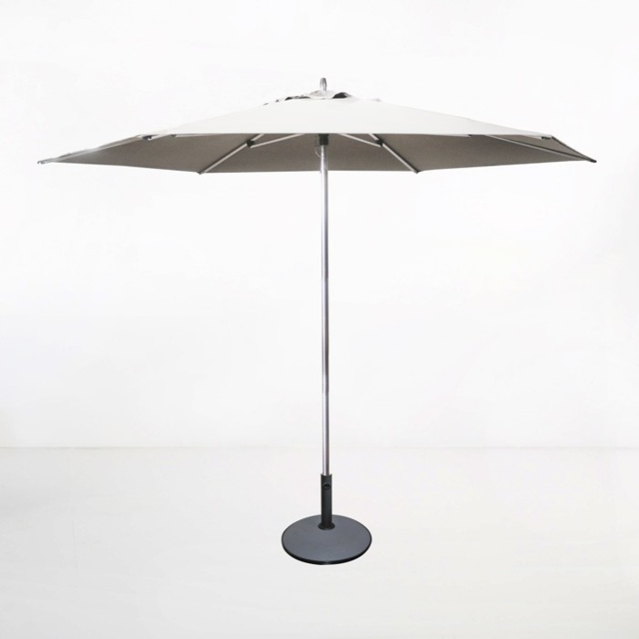 Tiki Round Patio Umbrella (White)-0