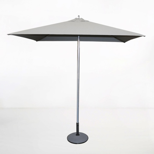 Tiki Square Patio Umbrella (Grey)-0