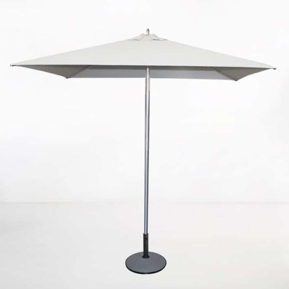 Tiki Square Patio Umbrella (White)-0
