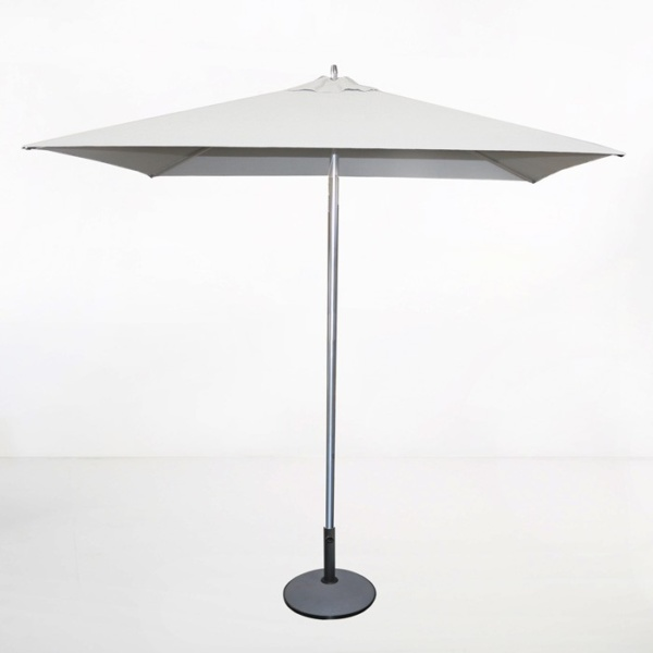 Tiki Square Patio Umbrella (White)-0