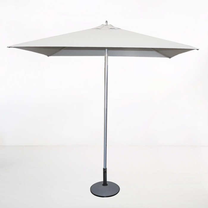 Delicieux Tiki Square Patio Umbrella (White) 0