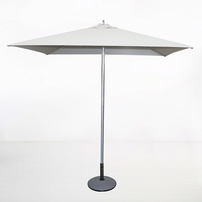 Tiki Square Patio Umbrella (White)