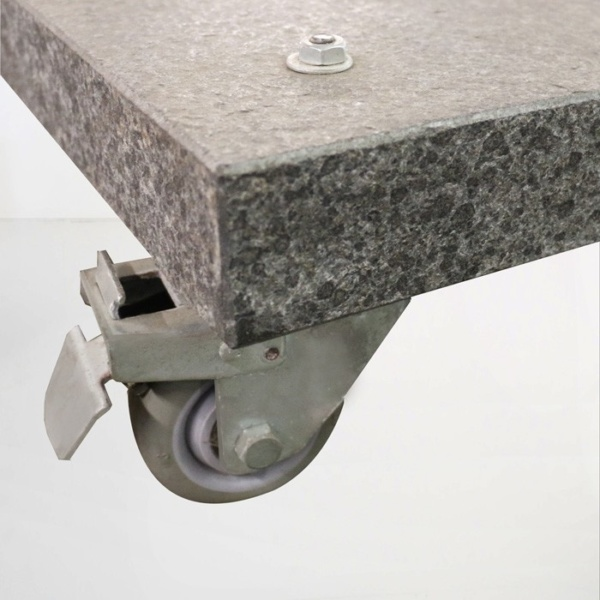 antigua genova umbrella base granite wheel