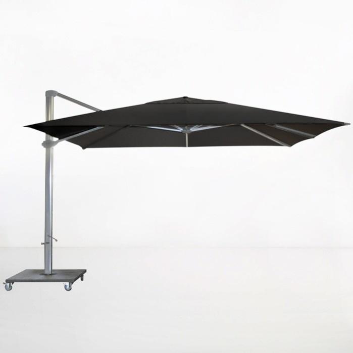 Kingston 13ft Cantilever Umbrella (Black)-0