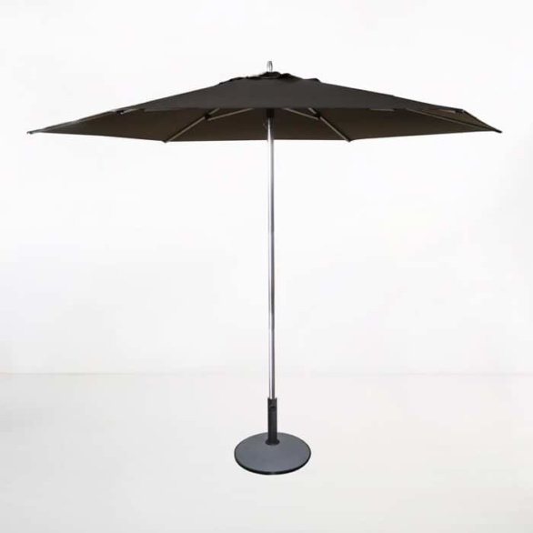 Tiki Round Patio Umbrella (Black)-0