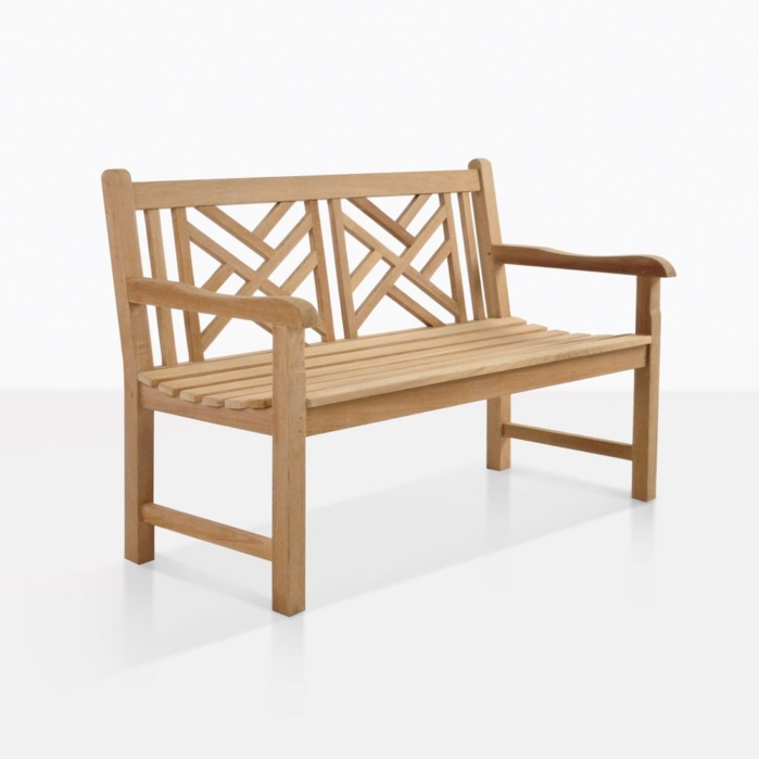 Elizabeth Premium Teak Bench For Two