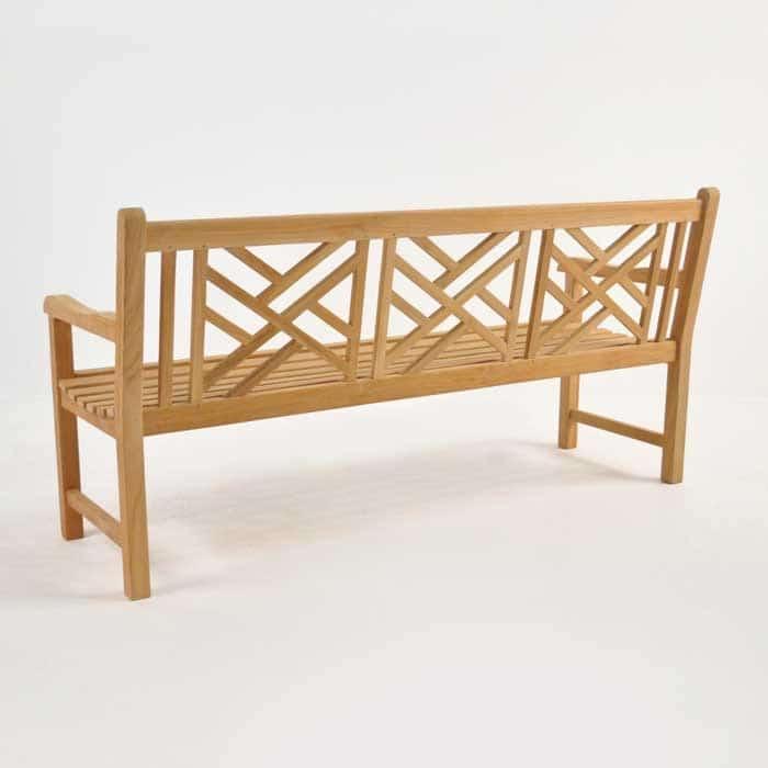 Elizabeth Teak Garden Bench 3 Seat Benches Teak Warehouse