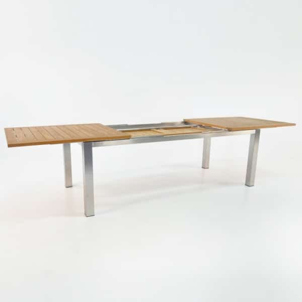 86in stainless steel extension table 4