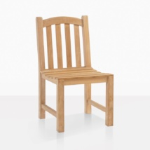 Bowback Teak Dining Arm Chair