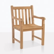 Garden Teak Dining Arm Chair