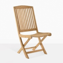 Halimah Teak Folding Side Chair